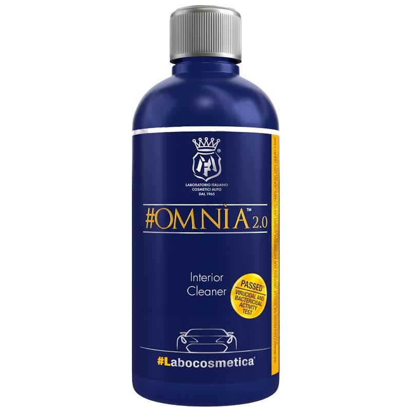 Labocosmetica OMNIA 2.0 Limpiador de interiores con acondicionador y bactericida-virucida 500 mL