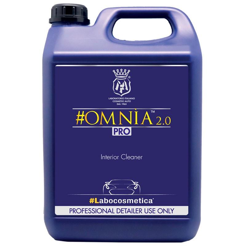 Labocosmetica OMNIA 2.0 Limpiador de interiores con acondicionador y bactericida-virucida 4.5 L