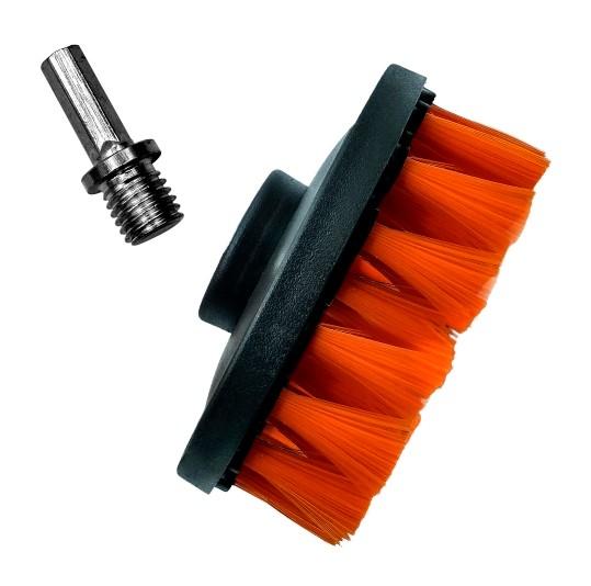 ADBL Twister Soft 100 mm Cepillo para pulidora rotativa o taladro