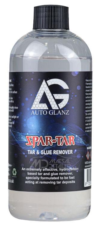 AutoGlanz Spar-Tar 500 mL - Eliminador de adhesivos y alquitrán