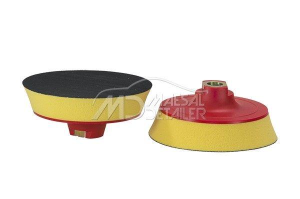 Flexipads plato de 125 mm M14 con velcro y espuma (20 mm)