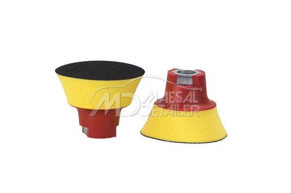 Flexipads plato de 75 mm m14 con velcro y espuma (25 mm)