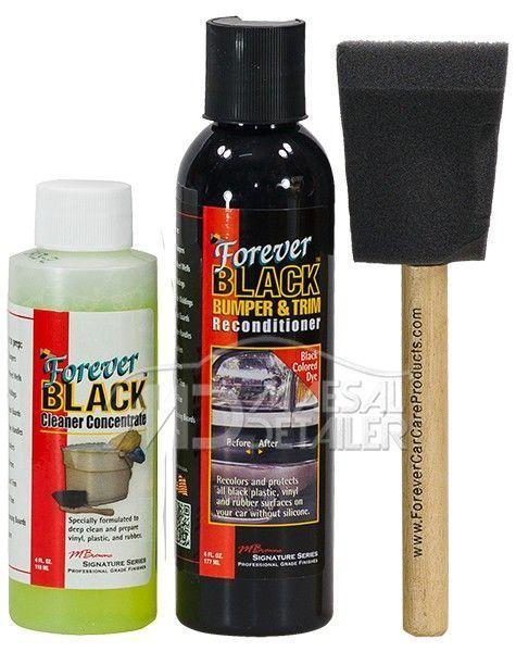 Forever Black Bumper&Trim Dye kit (NUEVA VERSIÓN)