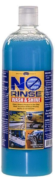 Optimum No Rinse Wash & Shine 946 mL